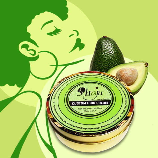 Shea Butter and Avocado Hair Cream