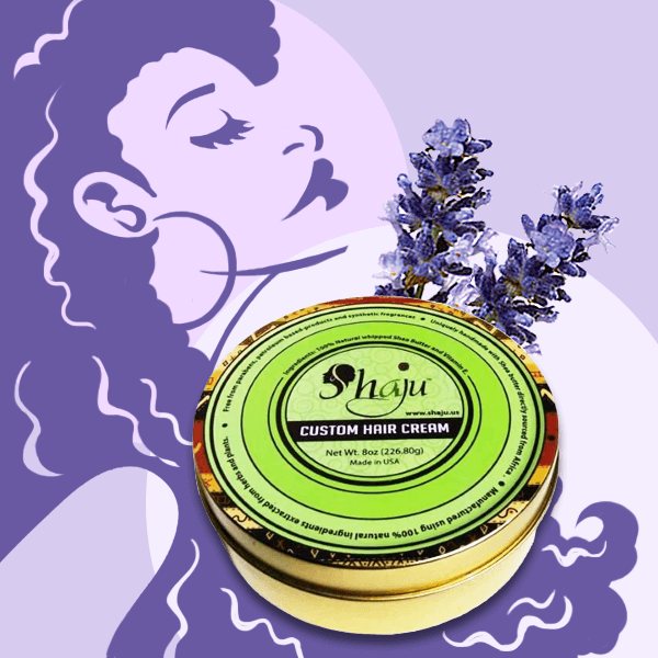 Shea Butter and Lavender Hair Cream