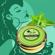 Shea Butter and Peppermint Hair Cream